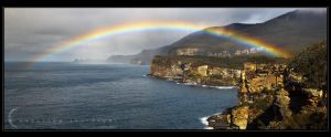 Tasman Peninsula Rainbow by CapturingTheNight