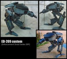 ED-209 custom by predatorhunter79