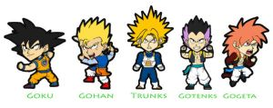 Dragon Ball chibies 3 by nuke-no-jutsu