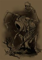 Corpse collector by ThePsychoGoat