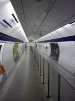 Leicester Square Tube Station [Portrait] by ggeudraco