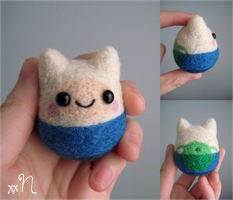 Felted Finn The Human by xxNostalgic
