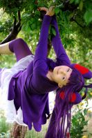 hanging on a tree by cee-chan26