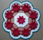 Winter Rose Doily by koepr5333