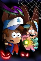The Mystery Twins by miitoons