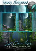 Fantasy Background V26 by DIGI-3D