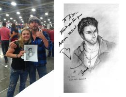 Jon Bernthal and Me by Smudgeandfrank