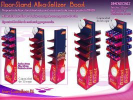 Floor-Stand Alka-Seltzer Boost by Ivan-Caballero-DI