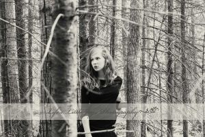 Dark Princess of the Woods by LLJPhotography