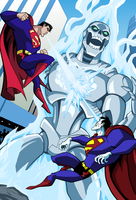 Superman Vs. Bizarro  Interior 03 by LucianoVecchio