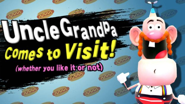 Newcomer: Uncle Grandpa! by FractiousLemon