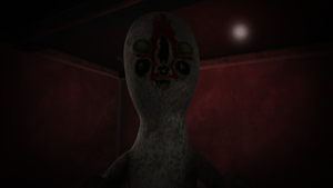 Dat sexy scp-173 face by Me-MowTheCat