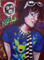 Young Ragamuffin:Noel Fielding by I-Lost-The-Plot