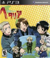 Hetalia Axis Powers PS3 Case by AlexanderTheTerrible