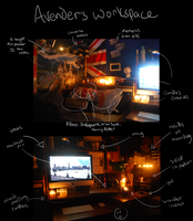 Avender's Workspace (home edition) by Avender