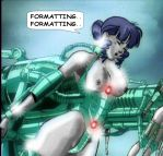 MALE IS TRANSFORMED INTO FEMALE CYBORG 6... END? by juliegrey2001