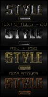 Text styles by DiZa - 29 by DiZa-74