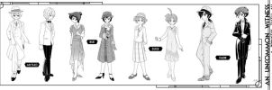 An Uncommon Witness costumes by Mangaka-chan