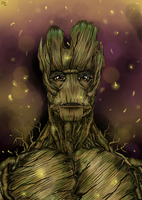 I am Groot by Karenscarlet