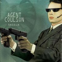 COVERgarynumanAGENTCOULSON by uwedewitt