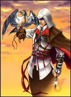 Ezio by fuzzypinkmonster