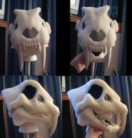 Smilodon Mask RELIC by Monoyasha
