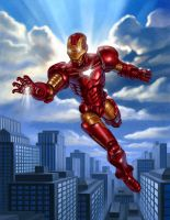 Iron Man by R-Valle