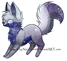 Moon fox on hold by BFAdoptables