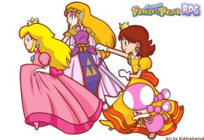Super Princess Peach RPG by kidhighwind