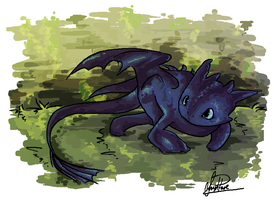 Toothless by Curly-Qs