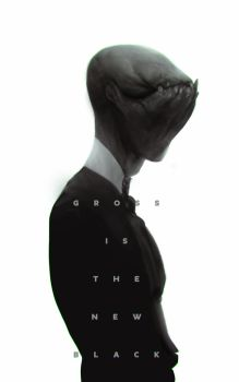 Gross is the new black by Robotpencil