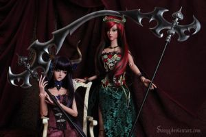 Scythes of Shadow by Sarqq