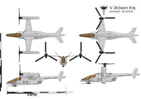 V-24 Swift Fox Naval Scheme by Afterskies