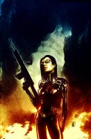 GI Joe: Baroness by Templesmith