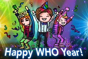 Happy WHO Year! by Chrisily