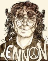 John Lennon  COLLAB with DS by Zara94