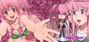 Gasai Yuno Banner by ValElfenMoon