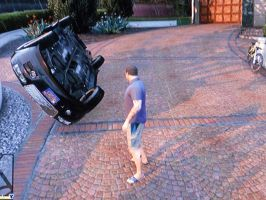 What happen to my car!?! by Barricade9-1-1