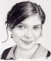 audrey tautou by domis