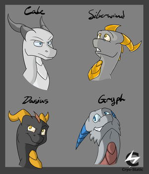 Free Request: Draconet Headshots by Cryo-Static