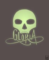Gloria - Logo by FionaCreates