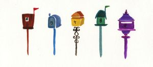 Letterboxes by nataliebeth