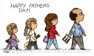 Happy Father's Day by BeckyBumble
