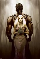 Dani and Drogo by RickyBryantJr
