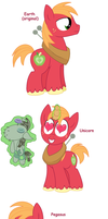 Big Macintosh - All Pony Races by Pupster0071