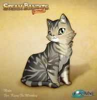 Steam Bandits Outpost Companion: Neko the Cat by Shattered-Earth