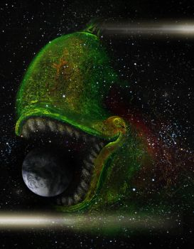 Pear - Eater of worlds by MarcSolArt
