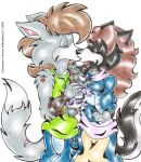A Four In One - The Wolfes by BlushBunnyC3