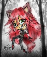 grell hungry wolf by selene-nightmare69
