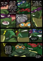 TMNT (fanmade) Same as it never was Aftershock _11 by FleshCreature